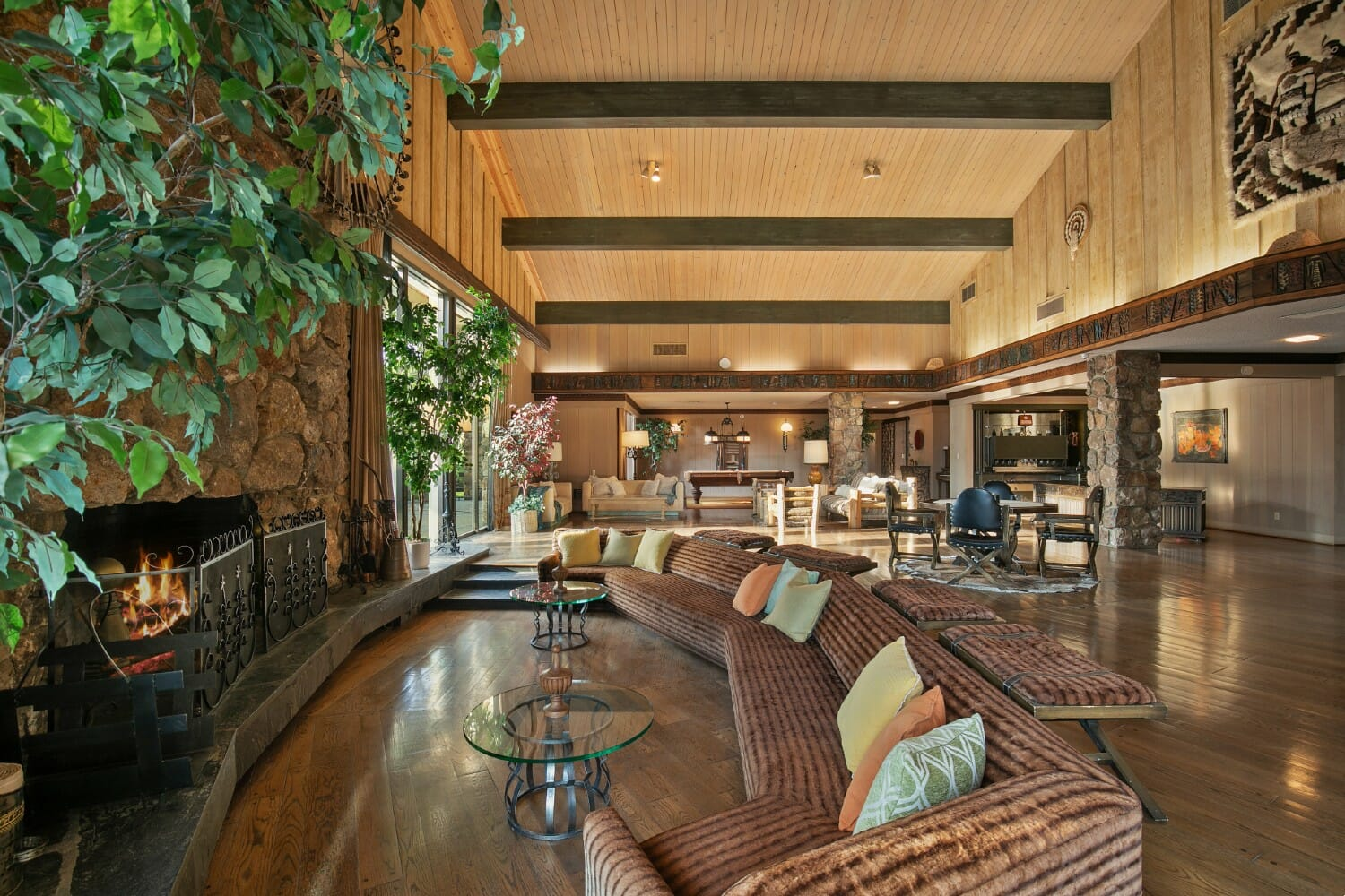 32_7355 Happy Canyon Road Official Listing Lodge fireplace gathering (1)